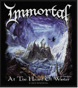 IMMORTAL - AT THE HEART OF WINTER EMBROIDERED PATCH