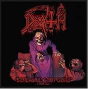 DEATH - SCREAM BLOODY GORE EMBROIDERED PATCH