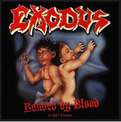EXODUS - BONDED BY BLOOD EMBROIDERED PATCH