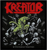 KREATOR - PLEASURE TO KILL EMBROIDERED PATCH