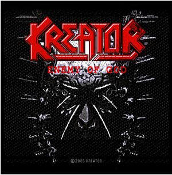 KREATOR - ENEMY OF GOD EMBROIDERED PATCH