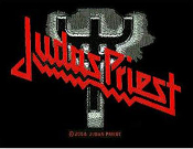 JUDAS PRIEST - LOGO FORK EMBROIDERED PATCH
