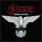 SAXON - WHEELS OF STEEL EMBROIDERED PATCH