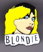 BLONDIE - DEBBIE ENAMEL PIN BADGE