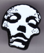CONVERGE - FACE ENAMEL PIN BADGE