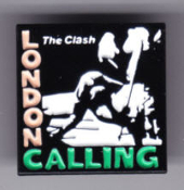 CLASH - LONDON CALLING ENAMEL PIN BADGE