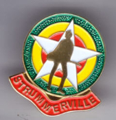 CLASH - STRUMMERVILLE ENAMEL PIN BADGE