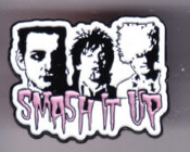 DAMNED - SMASH IT UP ENAMEL PIN BADGE