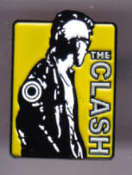 CLASH - CUT THE CRAP ENAMEL PIN BADGE