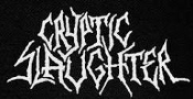 CRYPTIC SLAUGHTER - CRYPTIC SLAUGHTER PATCH