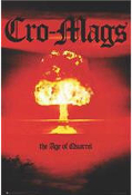 CRO MAGS - AGE OF QUARREL POSTER