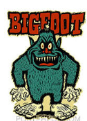 BEN VON STRAWN STICKER - BIGFOOT STICKER