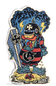 BEN VON STRAWN STICKER - SURF GREMLIN STICKER