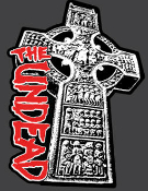 UNDEAD - CROSS EMBROIDERED PATCH