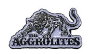 AGGROLITES - AGGROPANTHER ENAMEL PIN BADGE
