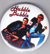 HUBBLE BUBBLE - BAND PICT LOGO BUTTON / BOTTLE OPENER / MAGNET