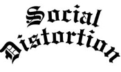 SOCIAL DISTORTION - SOCIAL DISTORTION RUB OFF STICKER