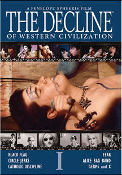 DVD - THE DECLINE OF WESTERN CIVILIZATION VOL 1