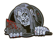 ENAMEL PIN BADGE - TALES FROM THE CRYPT KEEPER AXE