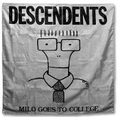 DESCENDENTS - MILO GOES TO COLLEGE FLAG