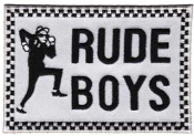 EMBROIDERED PATCH - RUDE BOY #2 PATCH