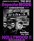 DEPECHE MODE CONVETION 2019 POSTER