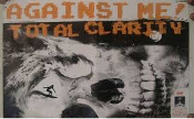 AGAINST ME - TOTAL CLARITY POSTER
