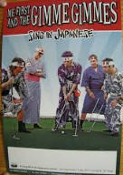 ME FIRST & GIMME GIMMES - SING IN JAPANESE POSTER