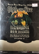 HIGH ON FIRE / THE BRONX / BURIED INSIDE POSTER