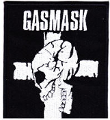 GASMASK - LOGO PATCH