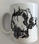 ANTI NOWHERE LEAGUE - FIST LOGO MUG