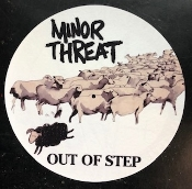 MINOR THREAT - OUT OF STEP SLIPMAT