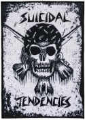 SUICIDAL TENDENCIES - RXCX SKULL BACK PATCH