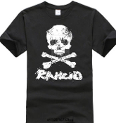 RANCID - SKULL TEE SHIRT