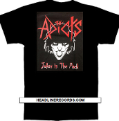 ADICTS - JOKER IN THE PACK TEE SHIRT