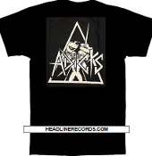 ADICTS - CLOCKWORK (B/W) TEE SHIRT