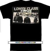 LOWER CLASS BRATS - BAND PICTURE TEE SHIRT