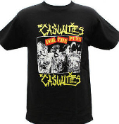 CASUALTIES - FOR THE PUNX TEE SHIRT