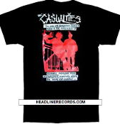 CASUALTIES THE NEW AND DANGEROUS TEE SHIRT