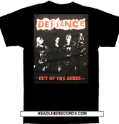 DEFIANCE - OUT OF THE ASHES TEE SHIRT
