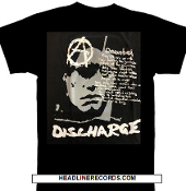 DISCHARGE - DECONTROL LYRICS TEE SHIRT