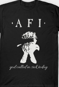 AFI - GOD CALLED IN SICK TODAY TEE SHIRT