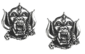 MOTORHEAD - WARPIG STUDS (SET) EARRING