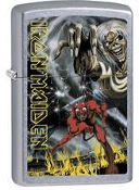 IRON MAIDEN - THE NUMBER OF THE BEAST ZIPPO LIGHTER REFILL METAL
