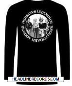 CRASS - PERSON UNKNOWN LONG SLEEVE TEE SHIRT