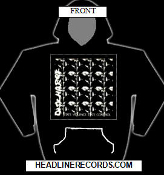 DISCHARGE - STATE VIOLENCE STATE CONTROL HOODIE SWEATSHIRT