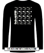 DISCHARGE - STATE VIOLENCE STATE CONTROL LONG SLEEVE TEE SHIRT