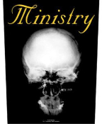 MINISTRY - THE MIND IS A TERRIBLE THING TO TASTE BACK PATCH