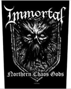 IMMORTAL - NORTHERN CHAOS GODS BACK PATCH