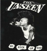 UNSEEN - SO SICK OF YOU STICKER